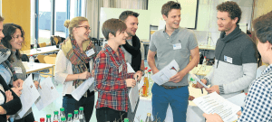 Dr. Florian Kapmeier and World Climate Inspire German Students