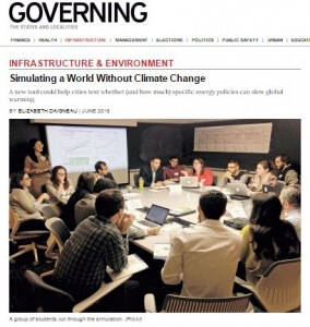 World Energy Featured in Governing Magazine