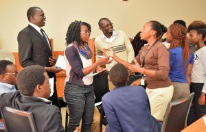 World Climate Simulation at a Business University in Kenya